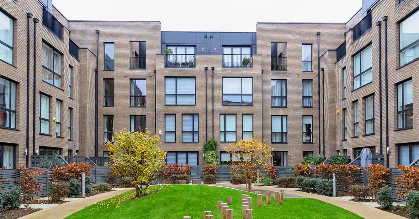 Ellyon Projects – Grange Walk – Kingspan aluminium PPC rainscreen cladding